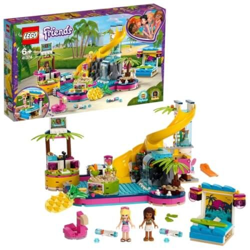 LEGO® Friends - Andreas Pool-Party