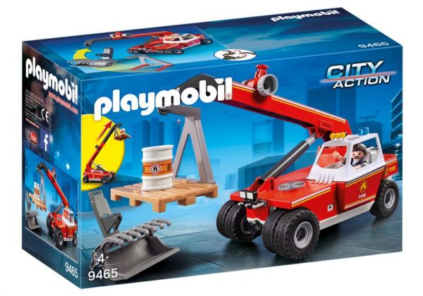 PLAYMOBIL® City Action - Feuerwehr-Teleskoplader