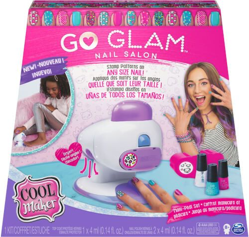 Spin Master Cool Maker - Go Glam Nails Salon 2 in 1