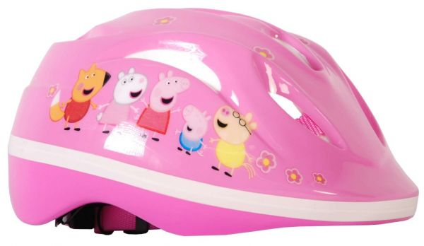 Volare Peppa Pig - Kinder Fahrradhelm Deluxe