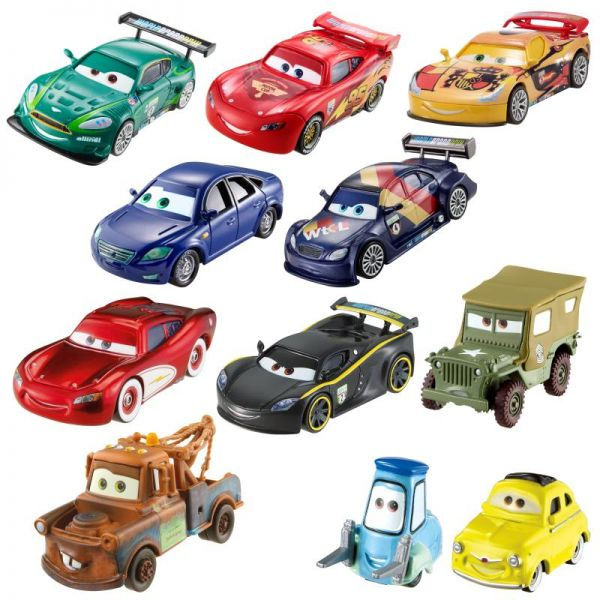 mattel disney cars 3 charakter fahrzeuge sortiert. Black Bedroom Furniture Sets. Home Design Ideas