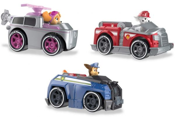 Spin Master Paw Patrol - True Metal Vehicle, sortiert