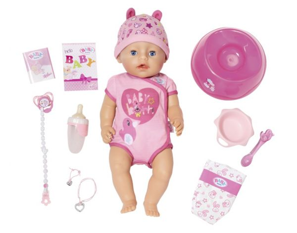 BABY born® - Soft Touch Girl