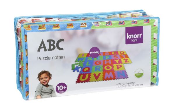 Knorrtoys - Puzzlematte ABC