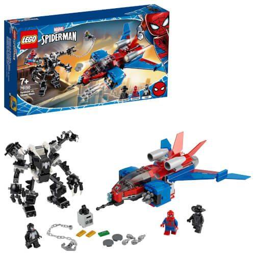 LEGO® Marvel Super Heroes™ - Spider-Men Spiderjet vs. Venom Mech