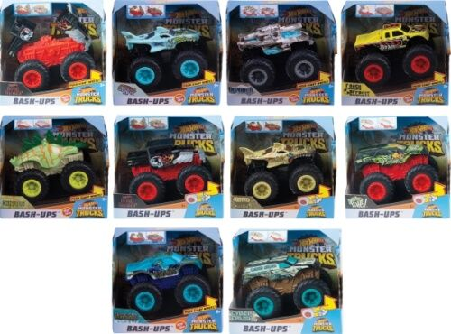 Hot Wheels® - Monster Trucks Bash Ups, sortiert