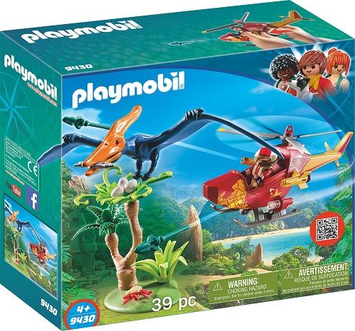 PLAYMOBIL® The Explorers - Helikopter mit Flugsaurier