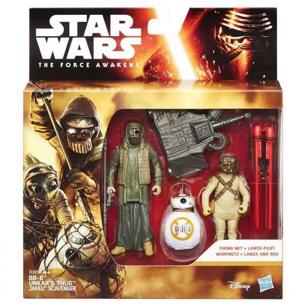 Hasbro - Star Wars Movie Mission Series Figuren, sortiert