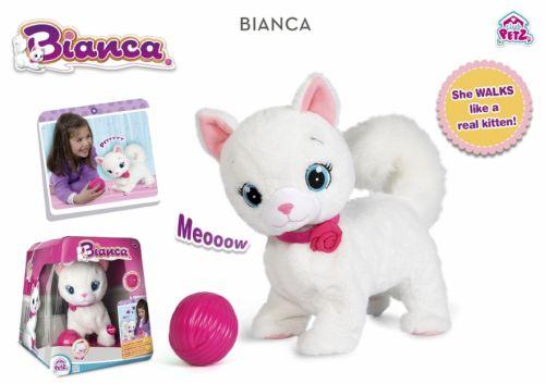 Imc toys bianca die flauschige katze teddy toys kinderwelt