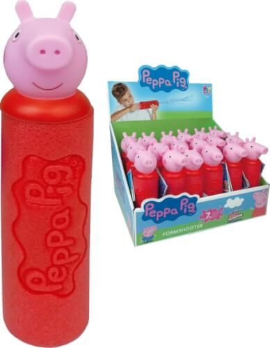 Happy People PEPPA PIG - FOAM SHOOTER Wasserspritze, ca. 19 cm,