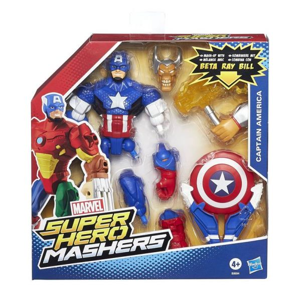 Marvel Super Hero Mashers 6'' Feature